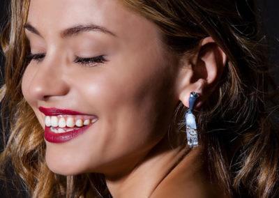 dubhe - aquamarine earrings pic3