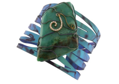 chryspoprase bracelet