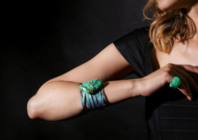 dubhe - chryspoprase bracelet pic3