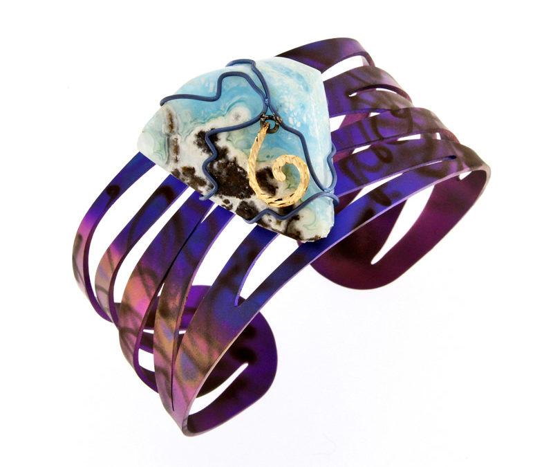 hemimorphite bracelet