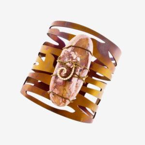 dubhe - fire opal bracelet pic2