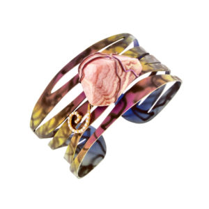 dubhe - rhodochrosite bracelet pic1