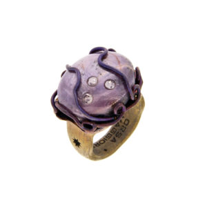 dubhe - star ruby ring small pic1