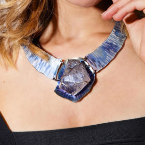 dubhe – tourmalinated quartz necklace pic3
