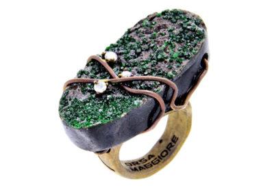 dubhe - uvarovite garnet ring pic1