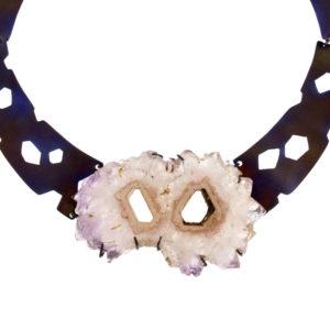 merak - amethyst necklace pic1