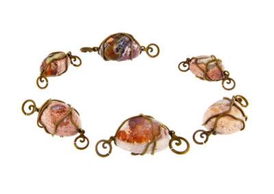 merak - fire opal pendants pic1