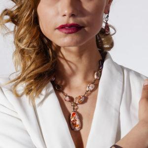 merak - fire opal pendants pic3