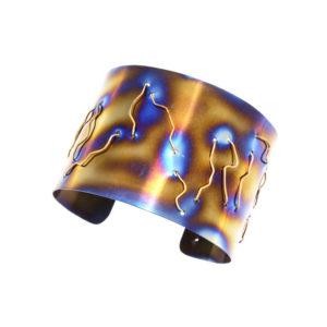 merak - gold wire bracelet pic1