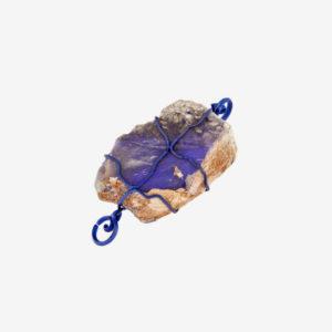 merak - matrix opal pendant with blue finish pic2