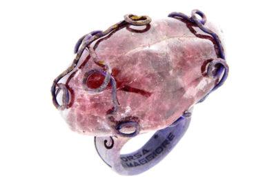 merak - rhodonite ring pic1