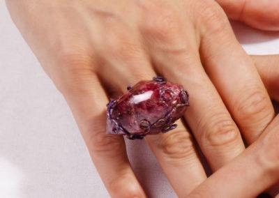 merak - rhodonite ring pic3