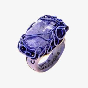 merak - tanzanite ring pic2