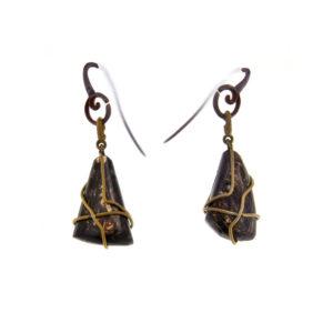 mizar - philogopite earrings pic1