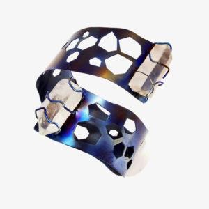 mizar - quartz bracelet pic2