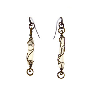 mizar - scapolite earrings pic1