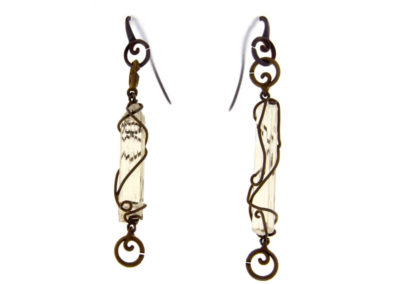 scapolite earrings