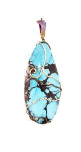 dubhe – turquoise pendant