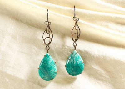 merak - amazonite earrings pic3