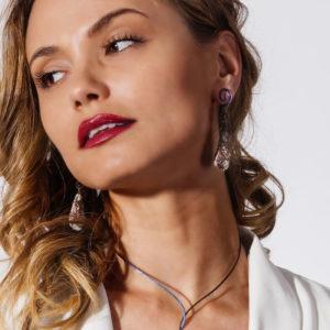 merak - astrophylite earrings pic4