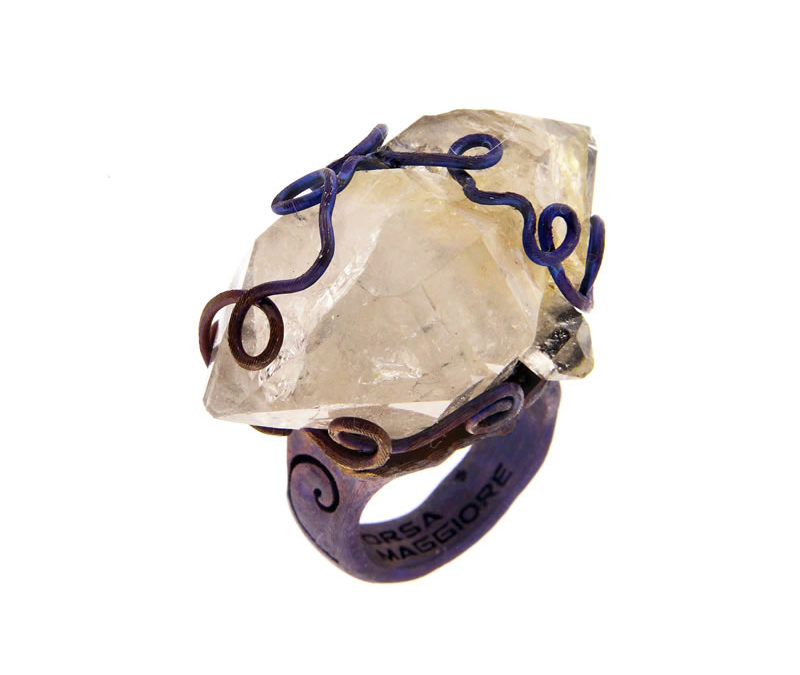 biterminated hyaline quartz ring