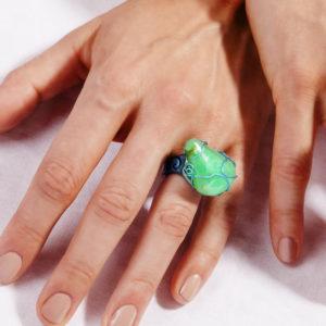 merak - chrisoprase ring pic4
