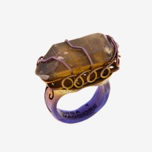 merak - citrine quartz ring pic2