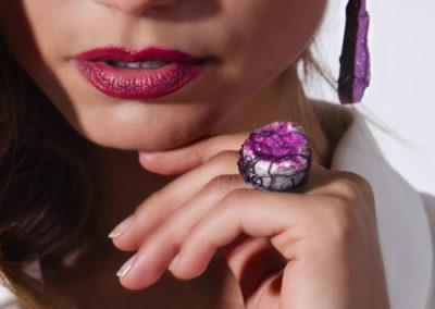 merak - cobaltian calcite ring pic3