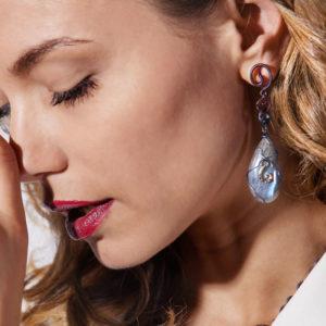 merak - labradorite earrings pic3