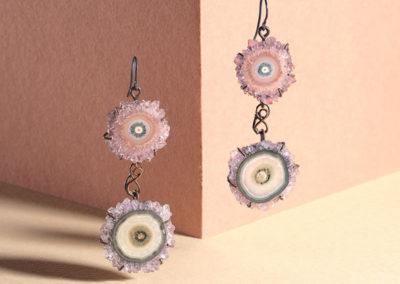 mizar - amethyst earrings pic3