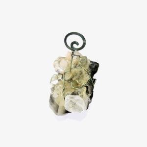 mizar - apophylite pendant pic2
