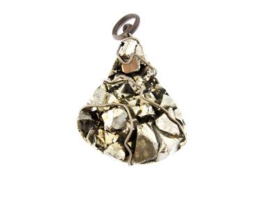mizar - pyrite pendant pic1